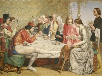 Isabella, 1849-John Everett Millais-Giclee Print
