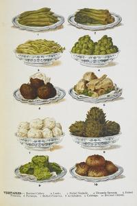 Assorted Vegetable Dishes by Isabella Beeton