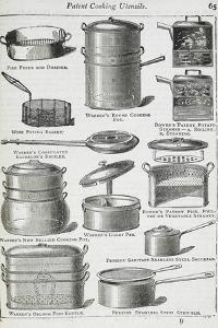 Patent Cooking Utensils by Isabella Beeton