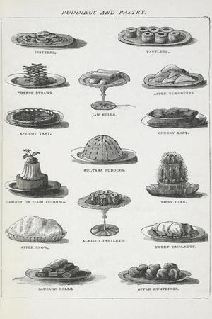 Puddings and Pastry