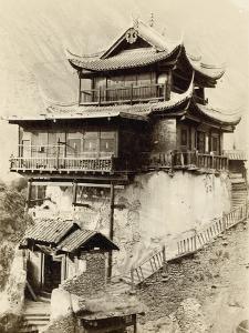 Rock Temple at Hifan Ting, Zhejiang Province, China, 1895 by Isabella Bird Bishop
