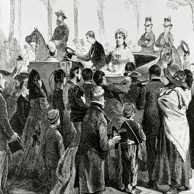 Isabella II of Spain--Giclee Print