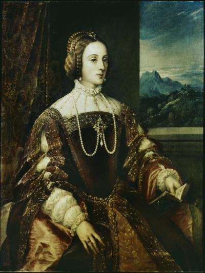 Isabella of Portugal-Titian (Tiziano Vecelli)-Giclee Print