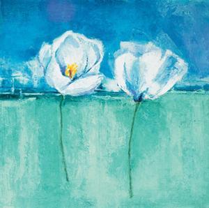 Fleurs d'Azur II by Isabelle Herbert
