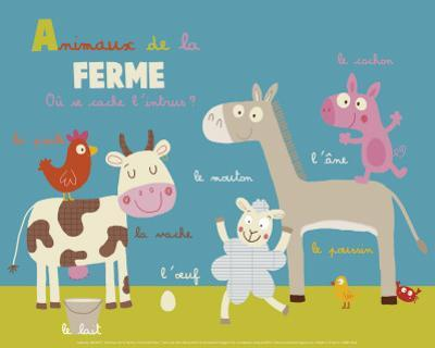 Farm Animals by Isabelle Jacque