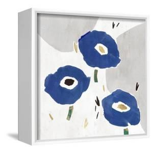 Blue Cluster II by Isabelle Z