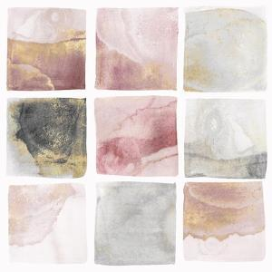 Blush Squares I by Isabelle Z