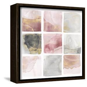 Blush Squares I by Isabelle Z