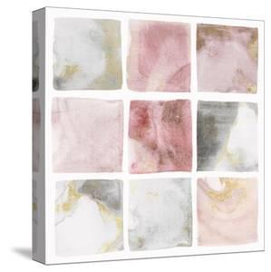 Blush Squares II by Isabelle Z