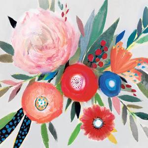 Circular Color Palette I by Isabelle Z
