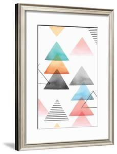 Group of Triangles I by Isabelle Z