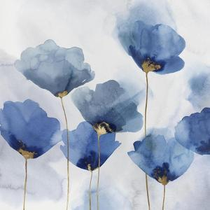 Pretty in Blue I by Isabelle Z