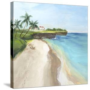 Summer Beach Walk by Isabelle Z