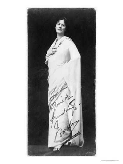 Isadora Duncan--Giclee Print