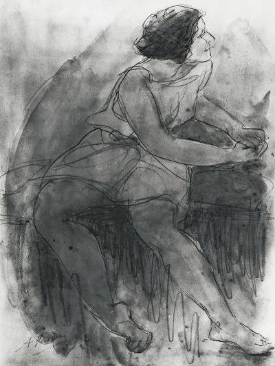 Isadora Duncan-Auguste Rodin-Giclee Print