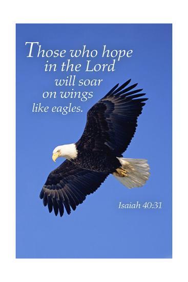 Isaiah 40:31 - Inspirational-Lantern Press-Art Print