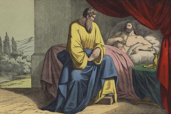Isaiah and Hezekiah--Giclee Print