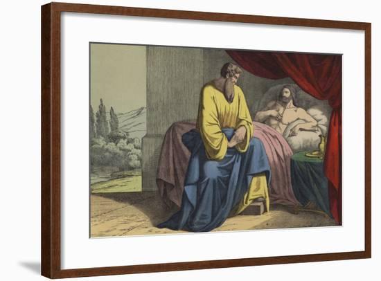 Isaiah and Hezekiah--Framed Giclee Print