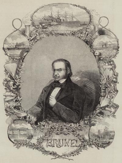 Isambard Kingdom Brunel--Giclee Print