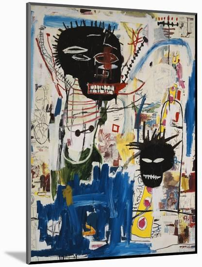 ISBN-Jean-Michel Basquiat-Mounted Giclee Print