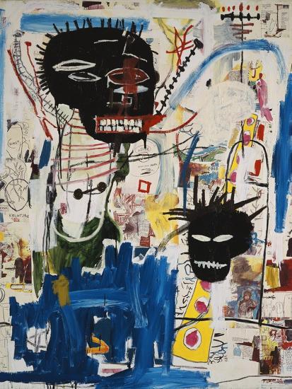 ISBN-Jean-Michel Basquiat-Premium Giclee Print
