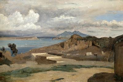 Ischia, Seen from Mount Epomeo, 1828-Jean-Baptiste-Camille Corot-Giclee Print