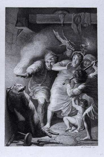 Isegrim Discovered--Giclee Print