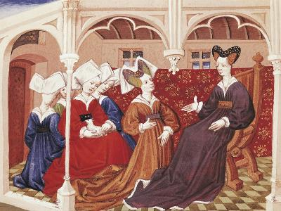 Iseult in the Company of Noble Women--Giclee Print