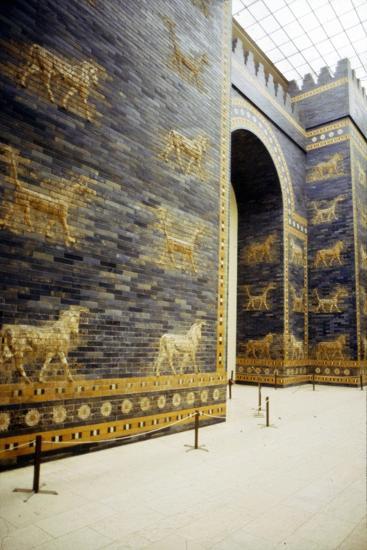 Ishtar Gate, Babylon, 575 BC, (c20th century)-Unknown-Giclee Print