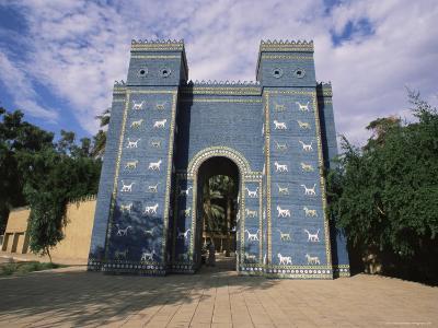 Ishtar Gate, Babylon, Iraq, Middle East-Nico Tondini-Photographic Print
