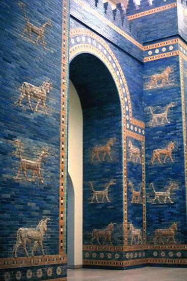Ishtar Gate, Babylon--Photographic Print