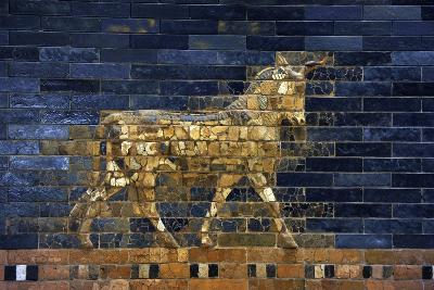Ishtar Gate. The Eight Gate of the Inner Wall of Babylon. Built in 575 BC by Order to?--Giclee Print