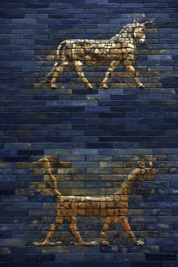 Ishtar Gate. The Eight Gate of the Inner Wall of Babylon. Built in 575 BC by Order to…--Giclee Print