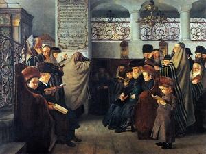 Hearken Israel by Isidor Kaufmann