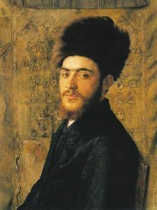 Man with Fur Hat by Isidor Kaufmann