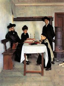 Sabbath Day by Isidor Kaufmann