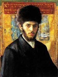Young Rabbi from Nadorna by Isidor Kaufmann