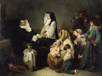 Death of a Sister of Charity, 1850
