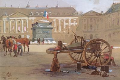 The Fallen Column, Place Vendôme, Paris, 29 May 1871