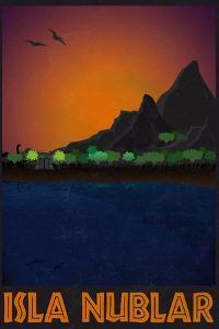 Isla Nublar Retro Travel