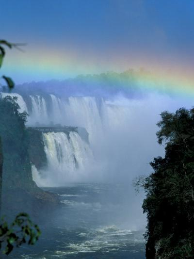 Isla San Marten, Iguacu National Park, Foz Do Iguacu, Cataratas, Argentina-Julie Bendlin-Photographic Print