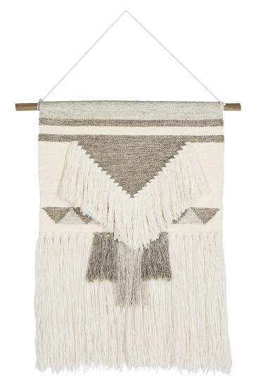 Isla Woven Wall Hanging - Ivory Brown--Home Accessories