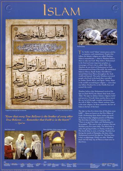 Islam--Art Print
