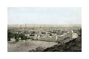 Islamic Holy City of Medina in Arabia, 1800s
