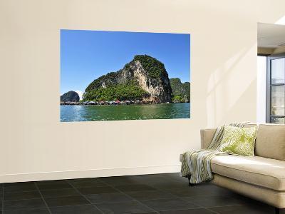 Island at Phang Nga Bay-Wilbowo Rusli-Wall Mural