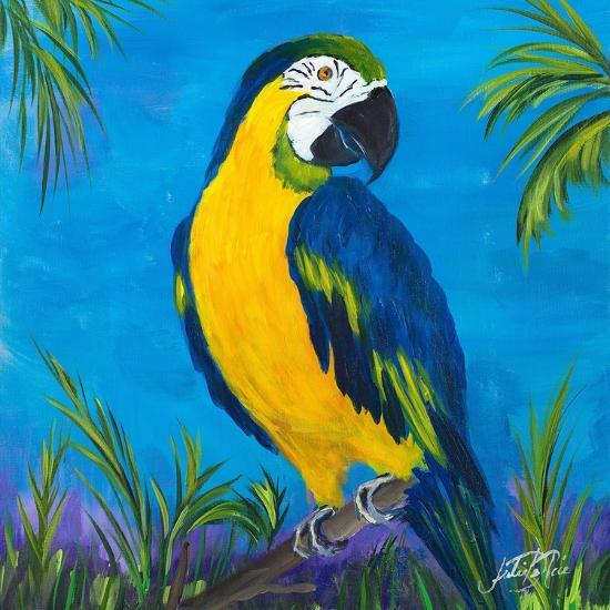 Island Birds Square II-Julie DeRice-Art Print