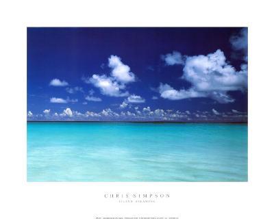 Island Dreaming-Chris Simpson-Art Print