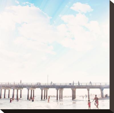 Island Dreaming-Mina Teslaru-Stretched Canvas Print