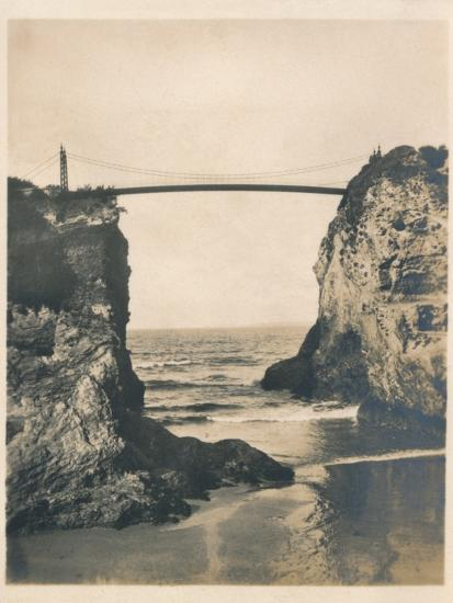 'Island Gap - Newquay, 1927-Unknown-Photographic Print