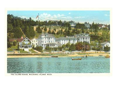 Island House, Mackinac Island, Michigan--Art Print